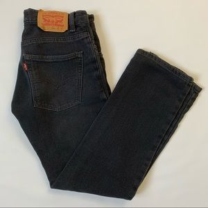 Levi's youth 511 knit jeans straight leg